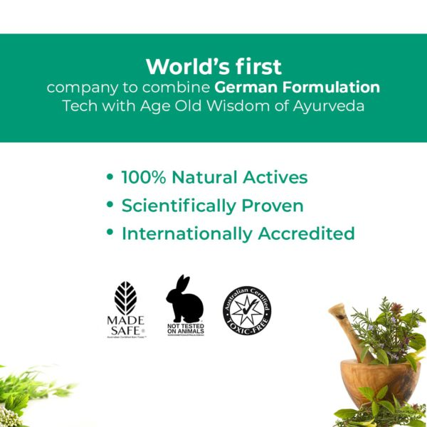 Green Cure - World's first company to combine German formulation tech with Indian Ayurveda