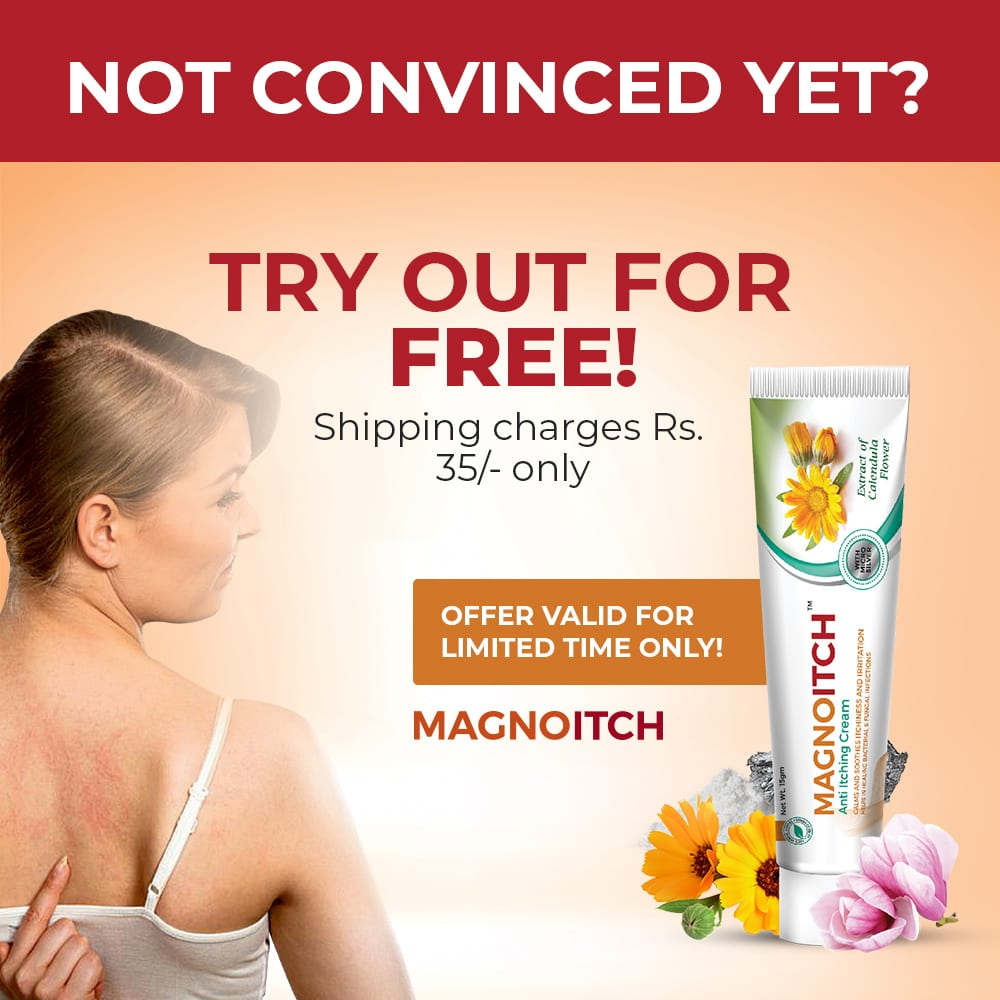 MagnoItch - Herbal Anti Itching Cream