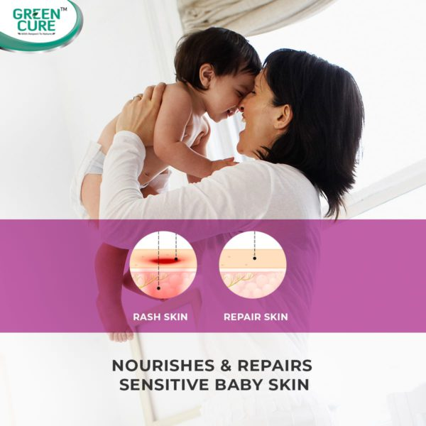 NappCure - For delicate baby skin, best baby rash cream