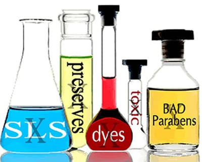 harmful chemicals in personal products