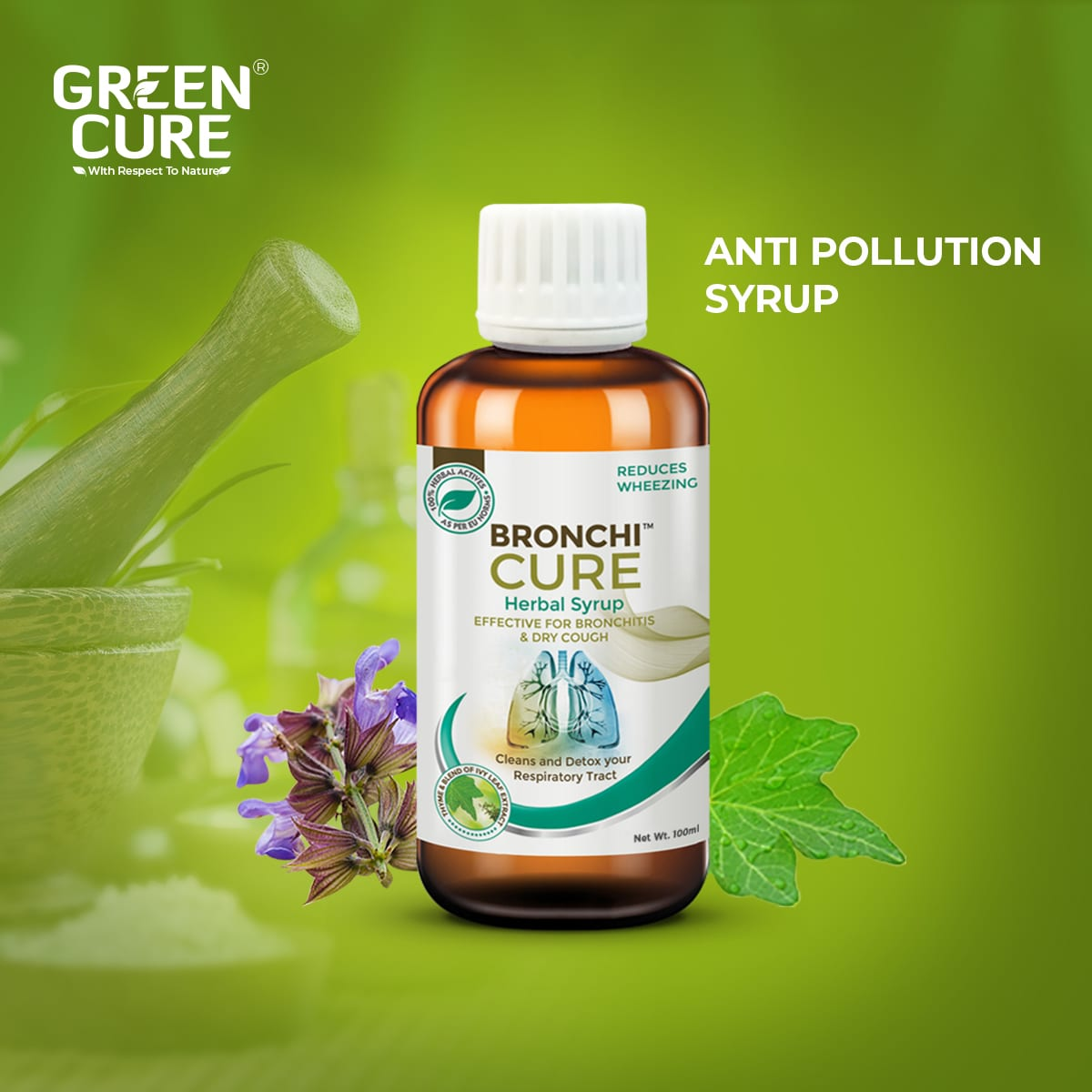 Bronchicure - THE ANTI POLLUTION SYRUP